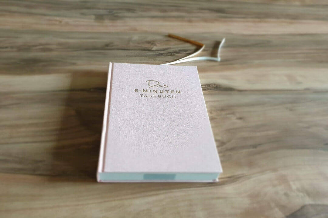 Das 6 Minuten Tagebuch Cover