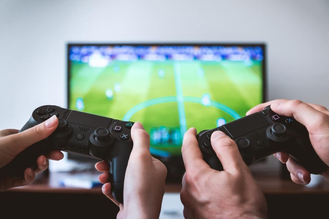 Paar Videospiele